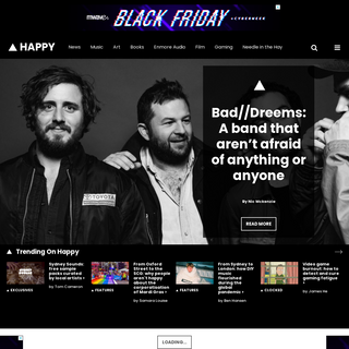 Happy Mag - Happy Mag is a news and entertainment publisher based in Sydney, Australia