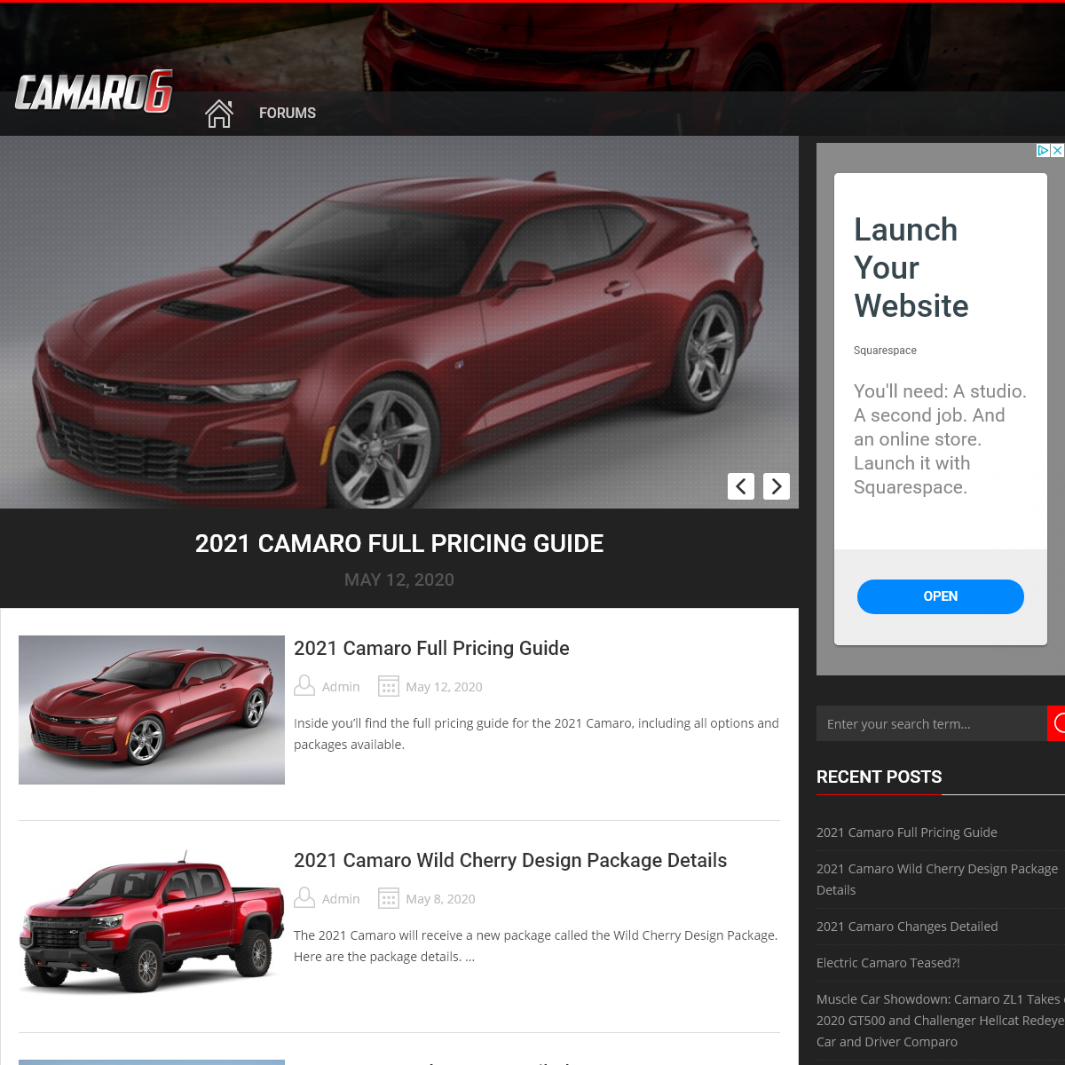 6th gen 2016+ Camaro forums, news, reviews, and more – Camaro6 - 6th generation 2016 Camaro forums, news, blog, reviews, wallp