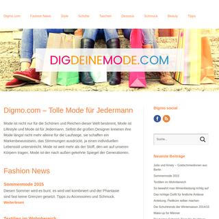 Dig deine Mode! › Kauftipps zu Fashion und Lifestyle