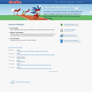 Cherokee Web Server - Home