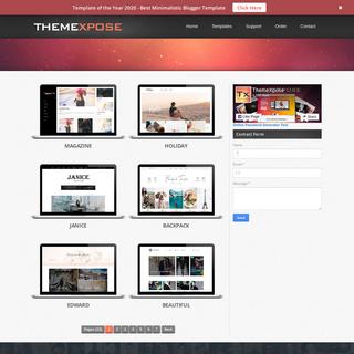 Free Blogger Templates - ThemeXpose