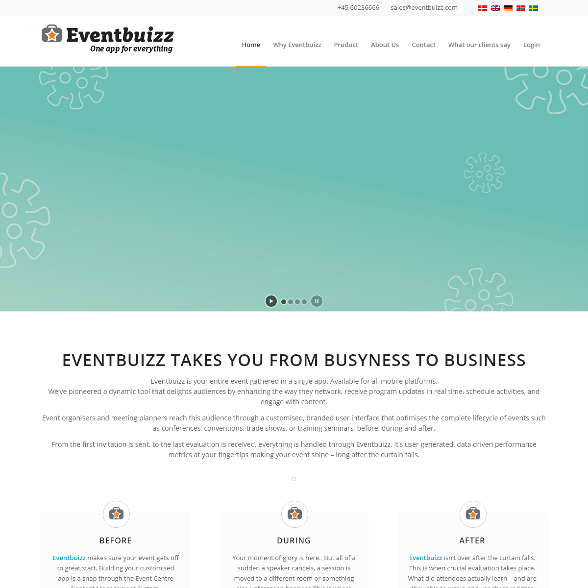 Eventbuizz – apps for your business – iOS – Android – Windows – HTML5 – Web app – Cloud