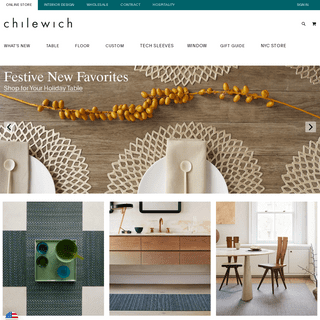The Best Placemats, Durable Area Rugs & Floor Mats - Chilewich