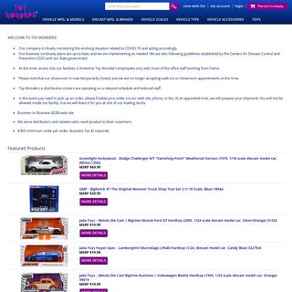 Toy Wonders, Inc. - Toy Wonders, Inc.
