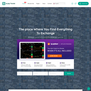 Swap House – The place Where You Find Everything To Exchange