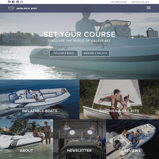 Walker Bay - Deluxe Inflatable Boats, Dinghies & Sail Kits