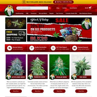 Buy Marijuana Seeds - Feminized Marijuana Seeds For Sale USA