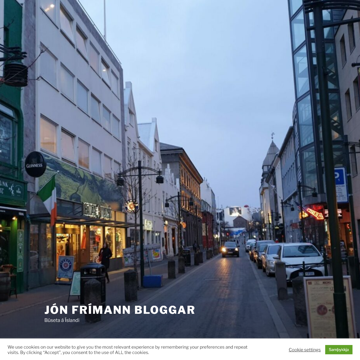 Jón Frímann Bloggar – Búseta á Íslandi