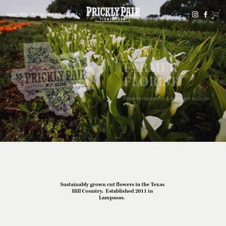 Prickly Pair Flower Farm