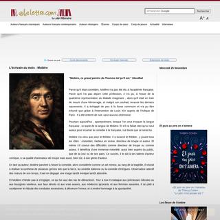 aLaLettre - Le site littéraire