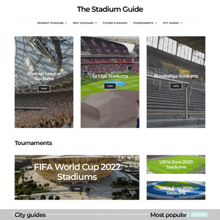 The Stadium Guide - Your Guide to the World`s Football Stadiums