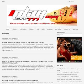iPlaycard777.com - Situs Agen Judi Online Terpercaya