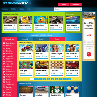 Superhry.cz - online hry zdarma