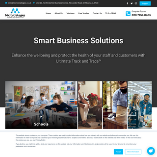 Microstrategies – Smart Business Solutions - Ultimate Track and Trace™️
