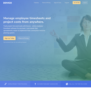 Dovico- Best Timesheet Management & Employee Time Tracking Software