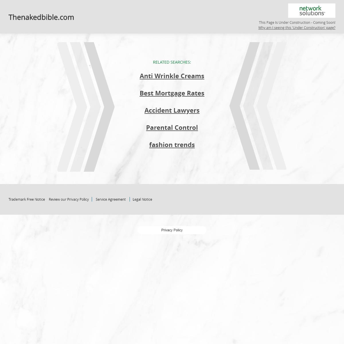 Thenakedbible.com