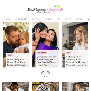 Social Mommy Coupon – Parents economy blog + coupons