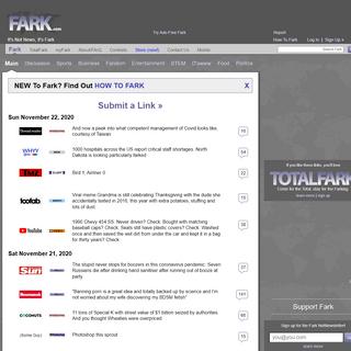 A complete backup of www.www.fark.com