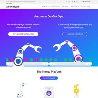 Sonatype - DevOps Automation - Open Source Governance