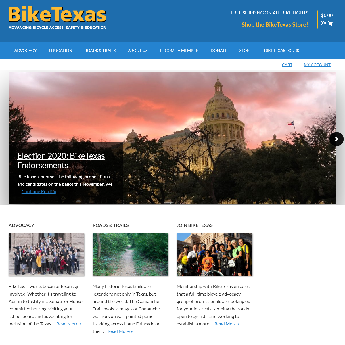 Home Page - BikeTexas