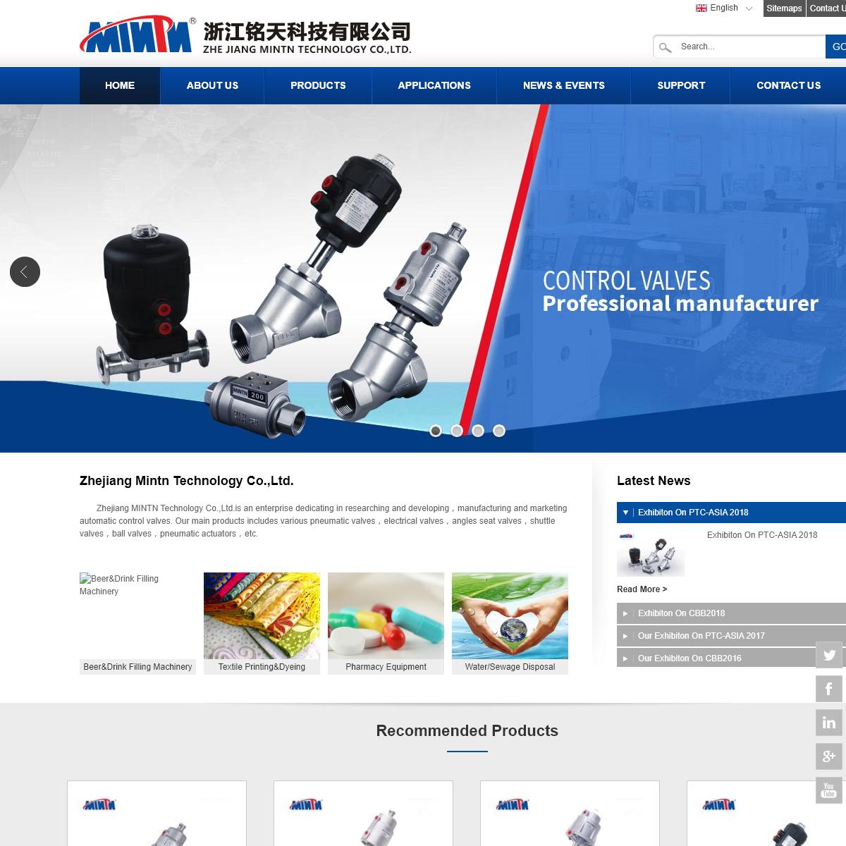 Zhejiang Mintn Technology Co.,Ltd.