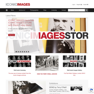 Iconic Images - Representing Iconic Photography Archives