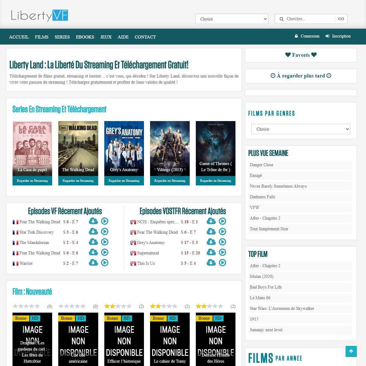 Liberty Land - Téléchargement et streaming complet librosgratisweb.com le vrai liberty