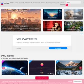 backiee - Free Ultra HD wallpaper platform