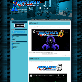 Cutstuff.net – Mega Man 8-bit Deathmatch Home