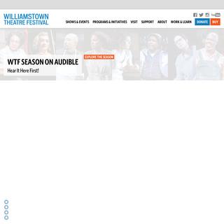 Williamstown Theatre Festival - Williamstown Theatre Festival