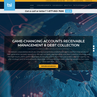 TSI - Debt Collection Re-Imagined