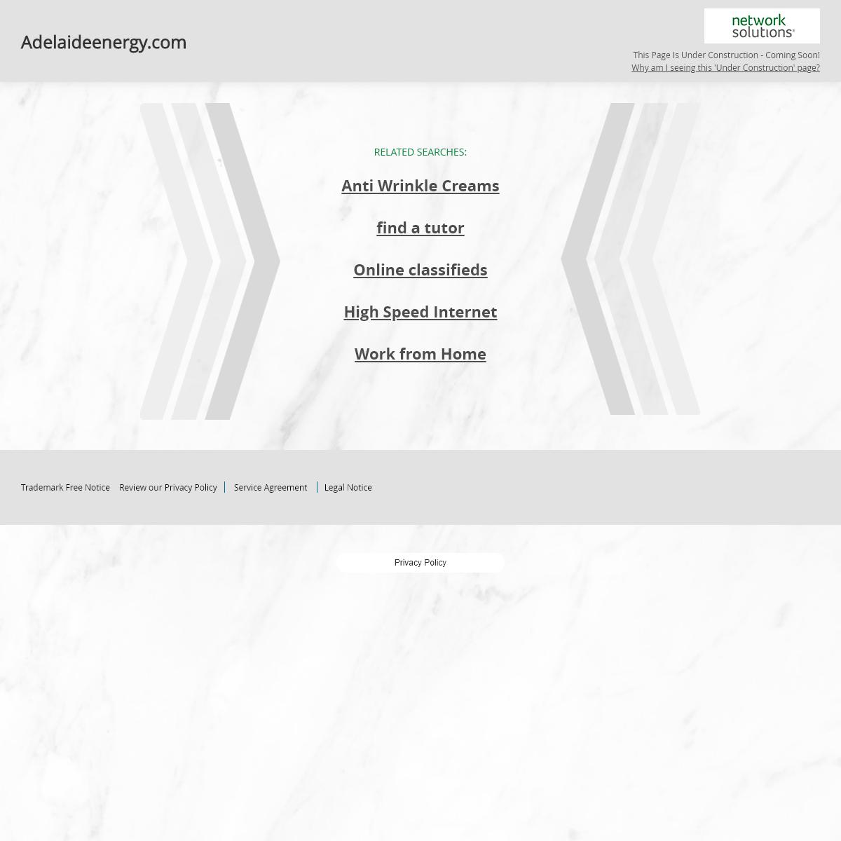 Adelaideenergy.com