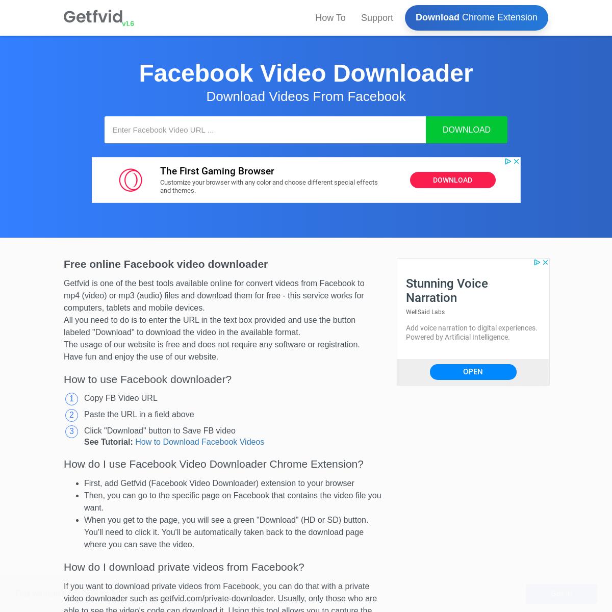 Facebook Video Downloader   Download Facebook Videos Online ...