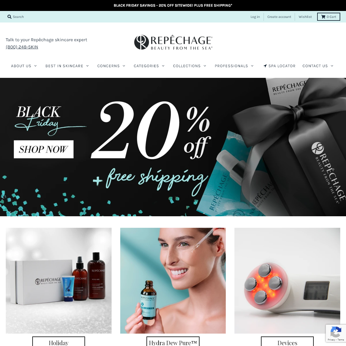 Professional Skin Care Products - Repêchage® Official Site