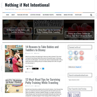 Nothing if Not Intentional - Travel with kids, foster care, and cargo bikes
