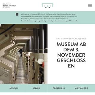 Start - Deutsches Bergbau-Museum Bochum