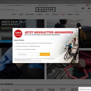 Velo günstig kaufen im Onlineshop Bikester.ch