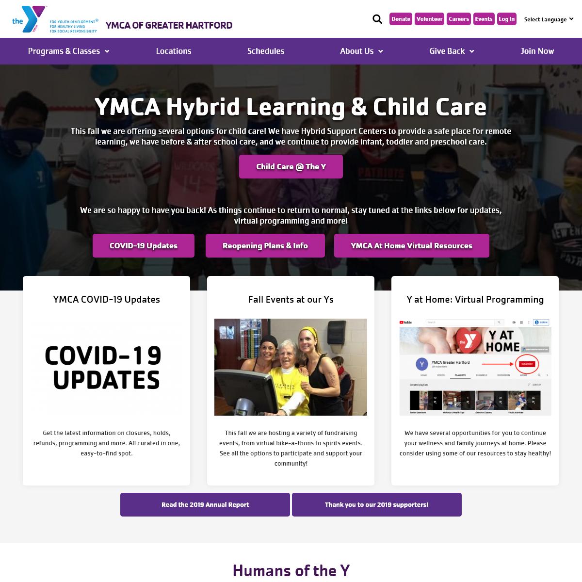 YMCA of Greater Hartford - YMCA Hartford