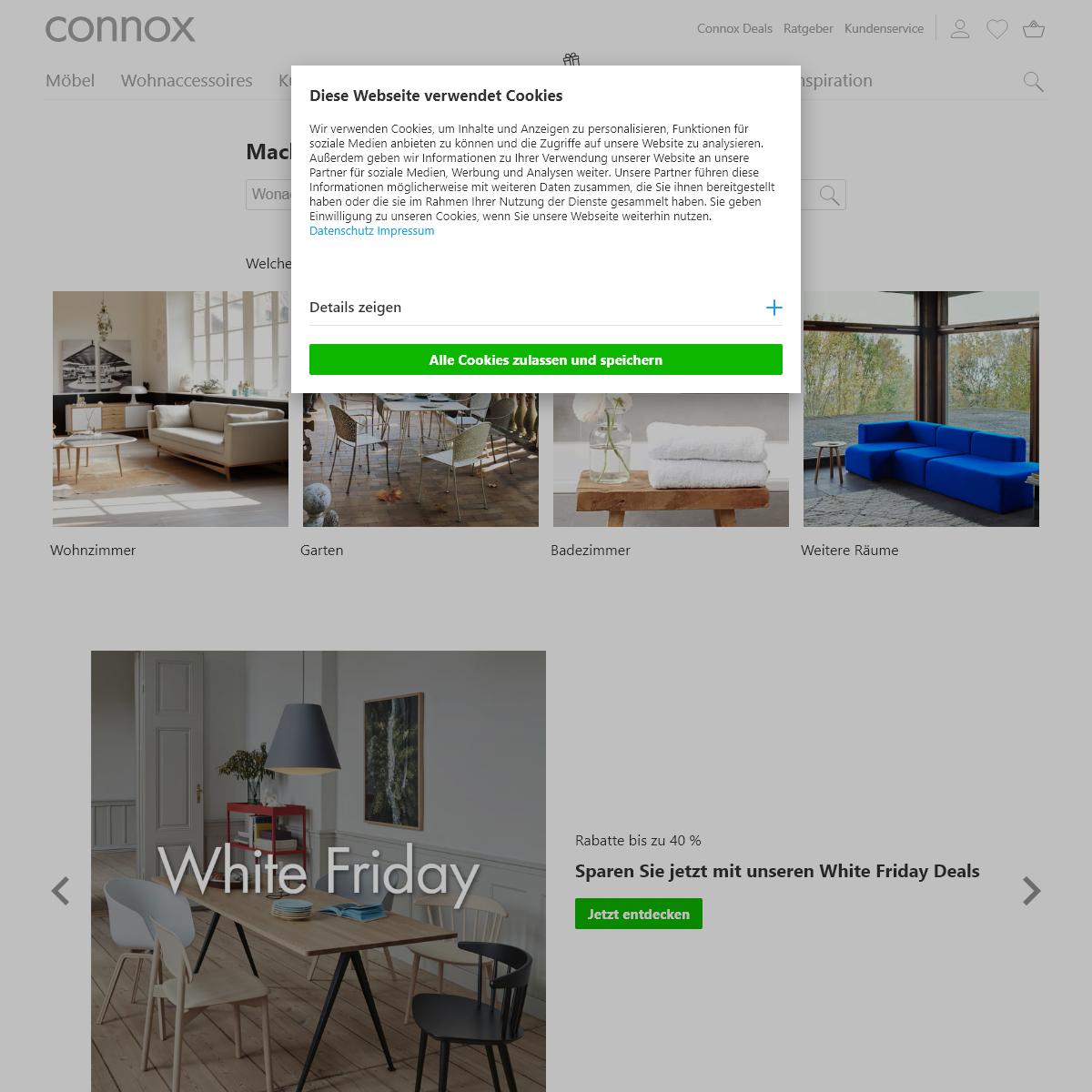 Connox Wohndesign-Shop - Möbel & Wohnaccessoires