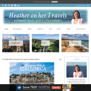 Heather on her travels - Authentic luxury travel