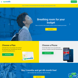 The best data plans and sim only deals – Lycamobile