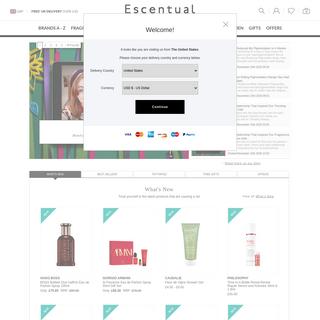 Escentual.com - Perfume & Cosmetics - Skin, Hair & Body Care