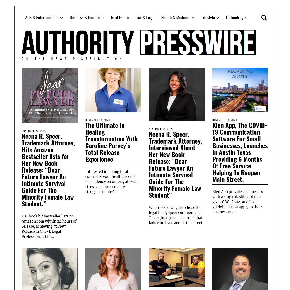 Authority Press Wire - Online News Distribution
