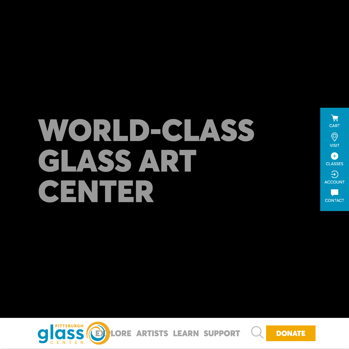 Pittsburgh Glass Center - Home