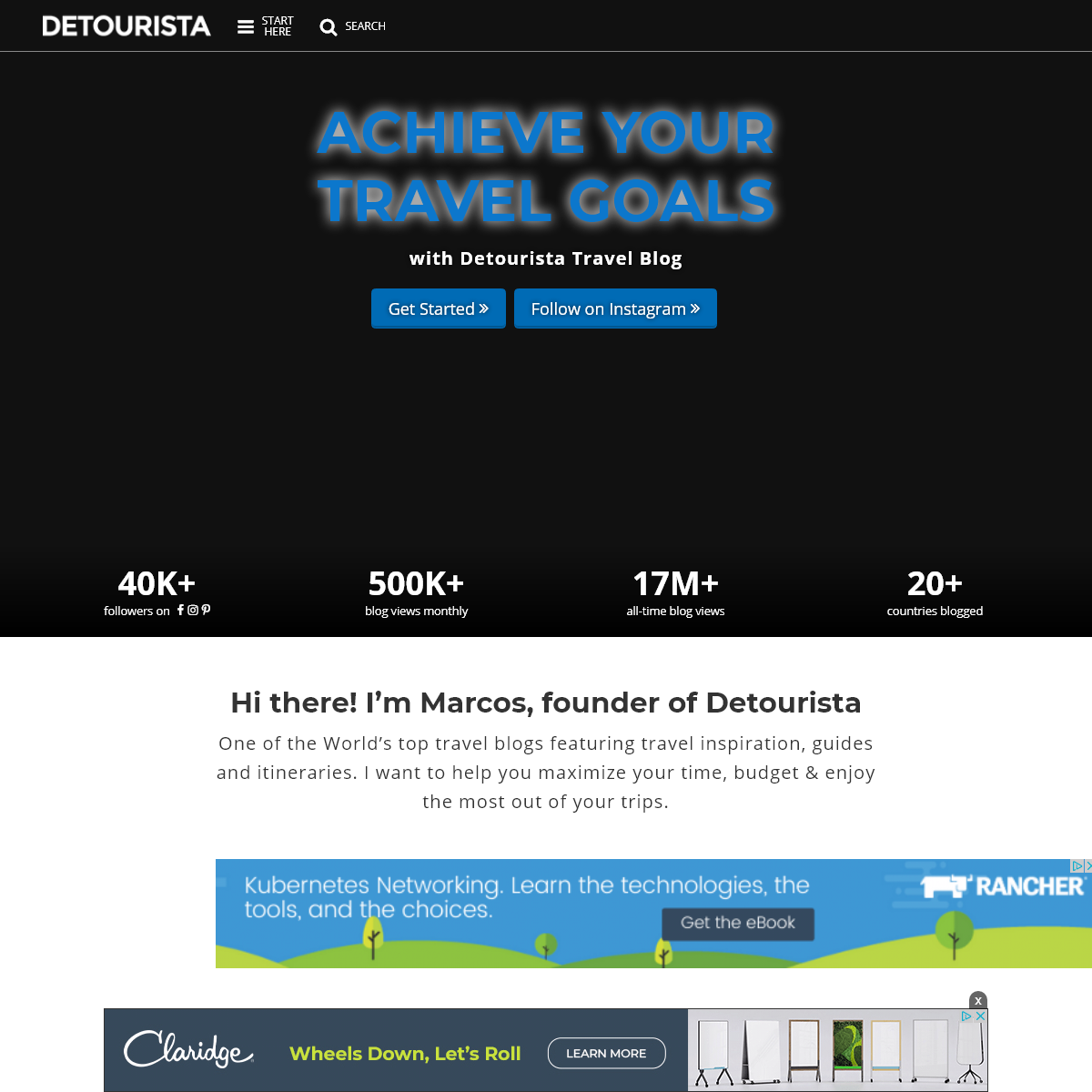 Detourista Travel Blog - Guides + Itinerary, Updates & more
