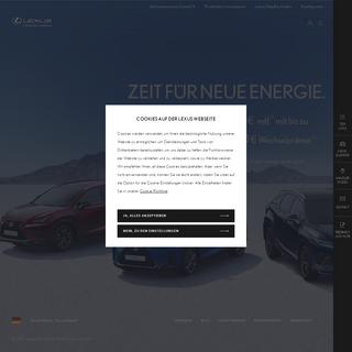 Lexus Premium-Fahrzeuge und Hybrid-Fahrzeuge - Lexus DE