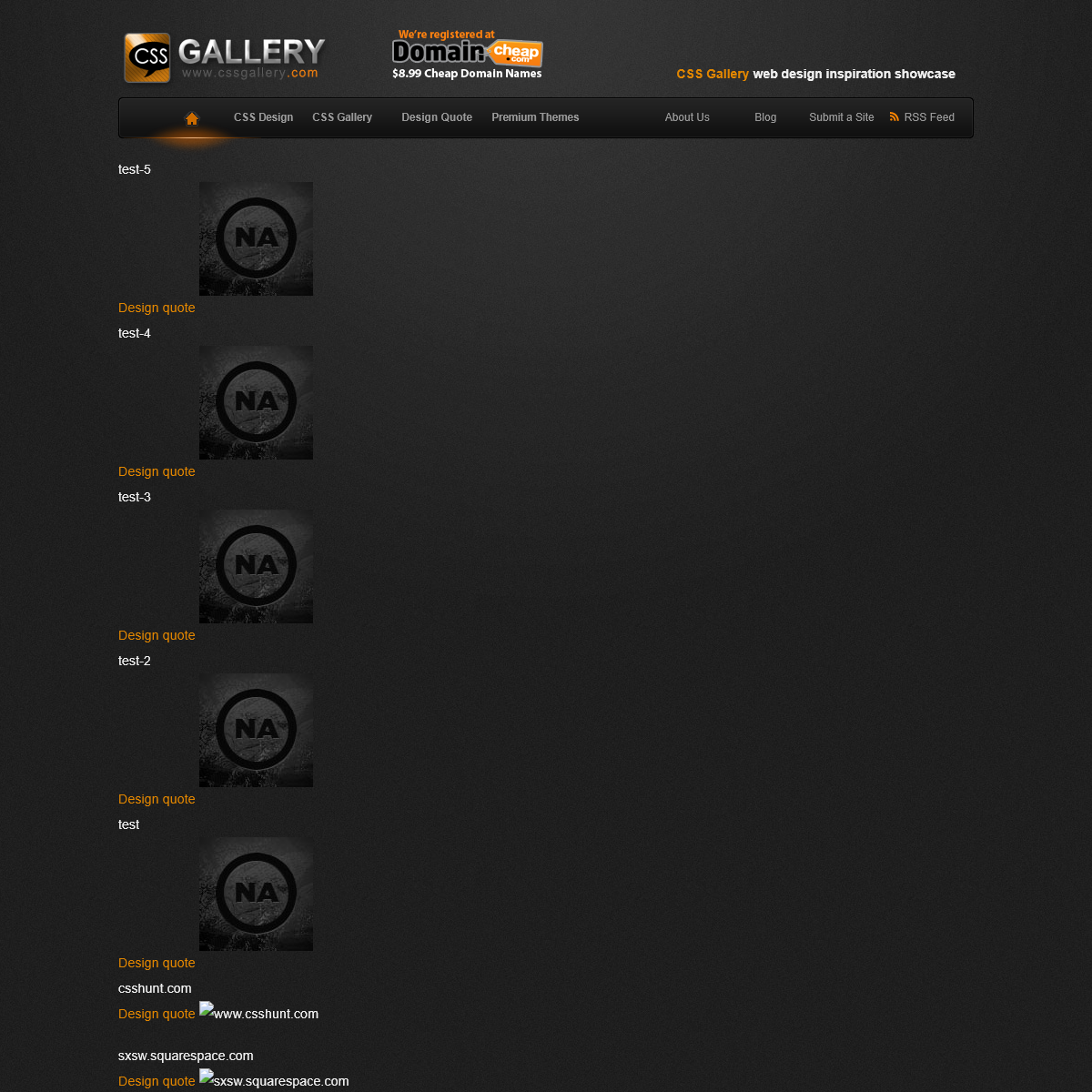CSS Gallery.com CSS Design and CSS Gallery Showcases TEST to FLASHLIGHT - FULLSCREEN BACKGROUND PORTFOLIO THEME the Best CSS Gal