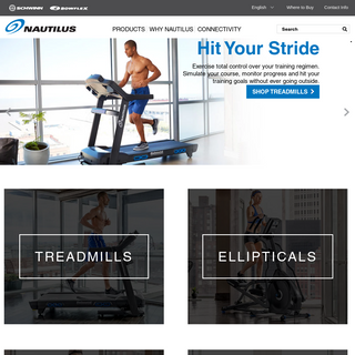Nautilus Home Fitness Solutions - Home Page - Nautilus