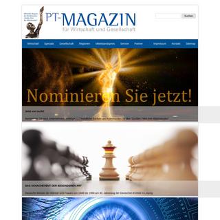 PT-Magazin Wirtschaft, Gesellschaft, Mittelstand