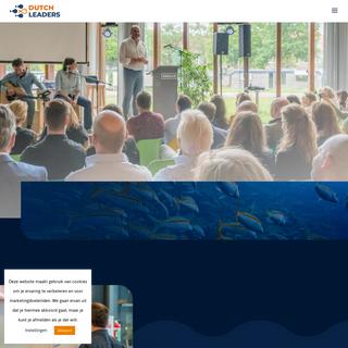 Leadership for lives - Dutch Leaders